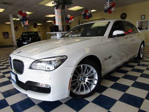 2014 BMW 7 Series for sale at Manassas Automobile Gallery in Manassas VA