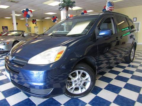 2004 Toyota Sienna for sale at Manassas Automobile Gallery in Manassas VA