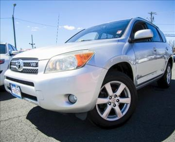 2007 Toyota RAV4 for sale at Manassas Automobile Gallery in Manassas VA