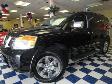 2011 Nissan Armada for sale at Manassas Automobile Gallery in Manassas VA