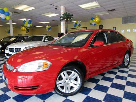 2013 Chevrolet Impala for sale at Manassas Automobile Gallery in Manassas VA