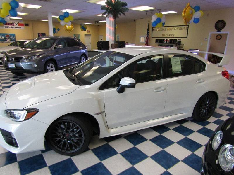 2016 Subaru WRX for sale at Manassas Automobile Gallery in Manassas VA