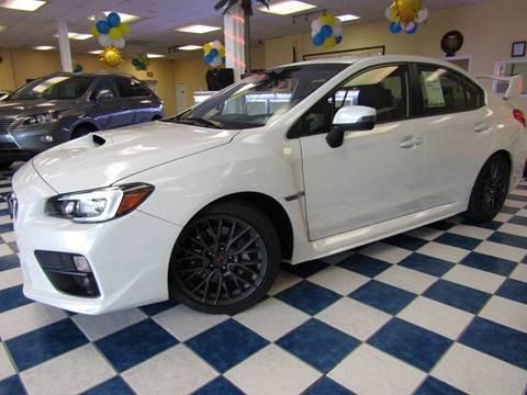 2016 Subaru WRX for sale at Manassas Automobile Gallery in Manassas VA