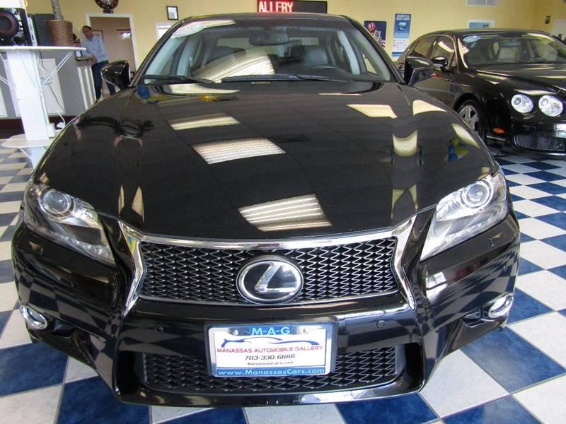 2013 Lexus GS 350 for sale at Manassas Automobile Gallery in Manassas VA