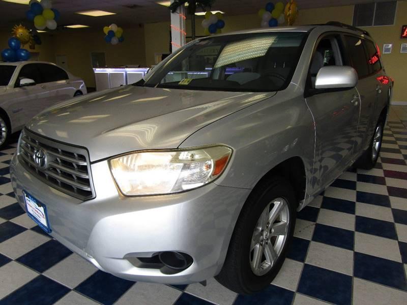 2008 Toyota Highlander for sale at Manassas Automobile Gallery in Manassas VA