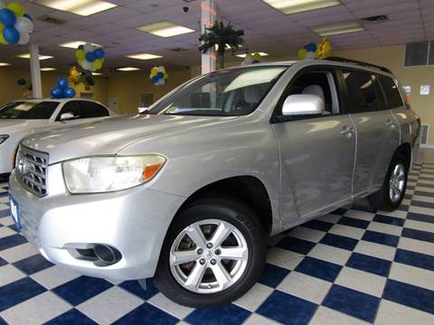 2008 Toyota Highlander for sale at Manassas Automobile Gallery in Manassas VA