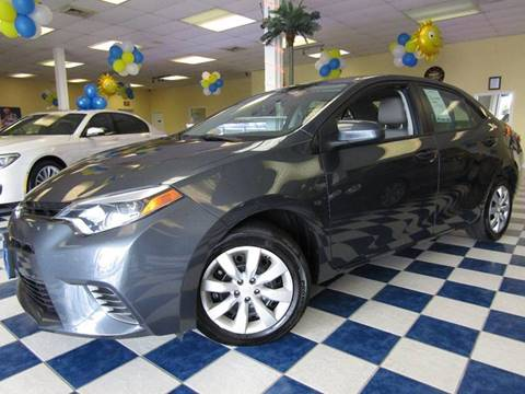 2016 Toyota Corolla for sale at Manassas Automobile Gallery in Manassas VA
