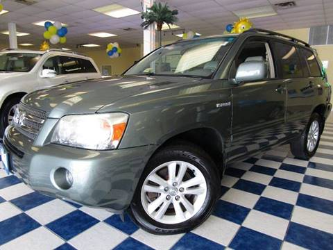 2007 Toyota Highlander Hybrid for sale at Manassas Automobile Gallery in Manassas VA