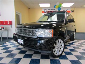 2006 Land Rover Range Rover for sale at Manassas Automobile Gallery in Manassas VA