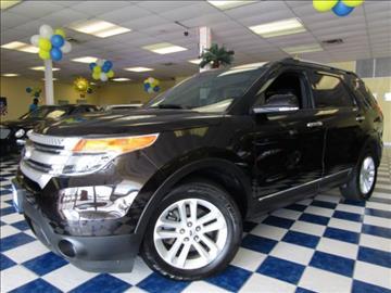 2013 Ford Explorer for sale at Manassas Automobile Gallery in Manassas VA