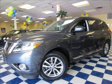 2014 Nissan Pathfinder for sale at Manassas Automobile Gallery in Manassas VA