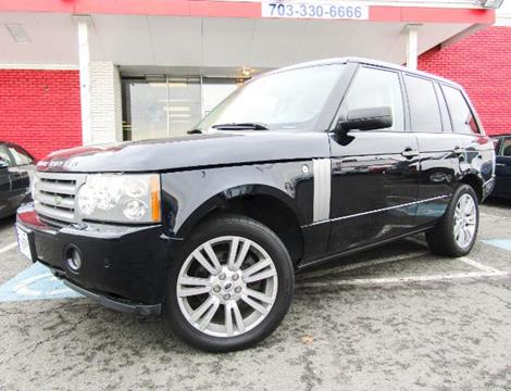 2009 Land Rover Range Rover for sale at Manassas Automobile Gallery in Manassas VA