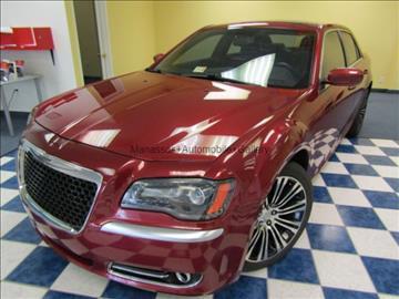 2012 Chrysler 300 for sale at Manassas Automobile Gallery in Manassas VA