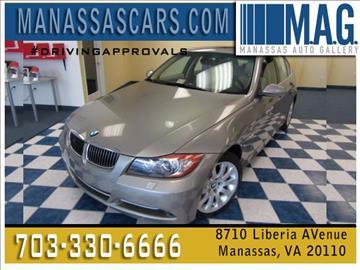 2007 BMW 3 Series for sale at Manassas Automobile Gallery in Manassas VA
