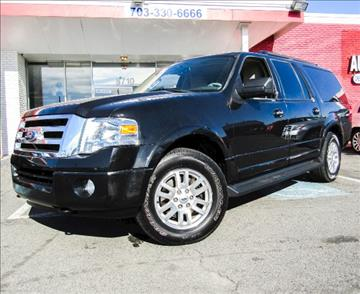 2012 Ford Expedition EL for sale at Manassas Automobile Gallery in Manassas VA