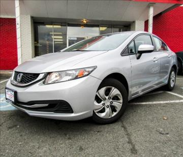 2014 Honda Civic for sale at Manassas Automobile Gallery in Manassas VA