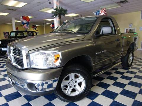 2007 Dodge Ram Pickup 1500 for sale at Manassas Automobile Gallery in Manassas VA