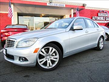 2010 Mercedes-Benz C-Class for sale at Manassas Automobile Gallery in Manassas VA