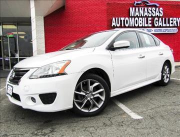 2013 Nissan Sentra for sale at Manassas Automobile Gallery in Manassas VA