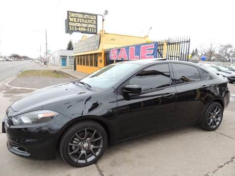 2015 Dodge Dart for sale at 3 Brothers Auto Sales Inc in Detroit MI