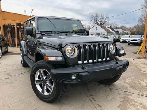 2019 Jeep Wrangler Unlimited for sale in Detroit, MI