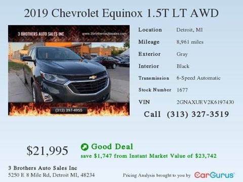 2019 Chevrolet Equinox for sale in Detroit, MI