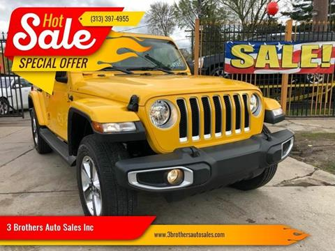 2019 Jeep Wrangler Unlimited for sale in Detroit, MI