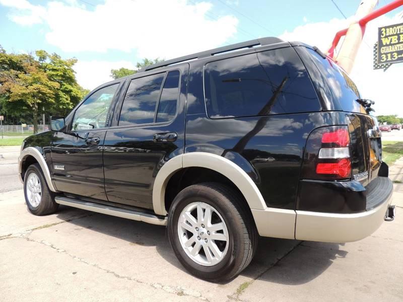 2008 Ford Explorer 4x4 Eddie Bauer 4dr SUV (V6) - Detroit MI