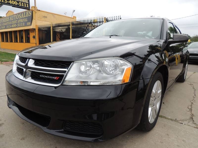 2012 Dodge Avenger SE 4dr Sedan - Detroit MI