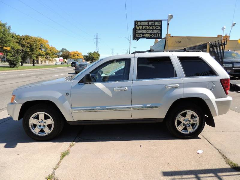 2006 Jeep Grand Cherokee Limited 4dr SUV 4WD w/ Front Side Airbags - Detroit MI