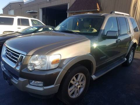 2006 Ford Explorer for sale at Tumbleson Automotive in Kewanee IL