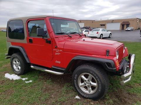 2001 Jeep Wrangler for sale in Kewanee, IL