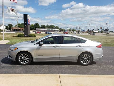 2017 Ford Fusion Hybrid for sale in Kewanee, IL