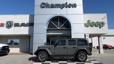2019 Jeep Wrangler Unlimited for sale in Athens, AL