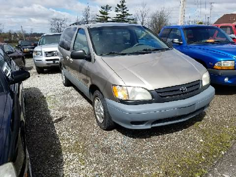 2001 Toyota Sienna for sale at BELLEFONTAINE MOTOR SALES in Bellefontaine OH