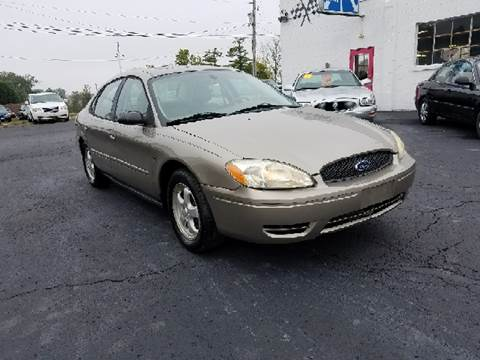 2004 Ford Taurus for sale at BELLEFONTAINE MOTOR SALES in Bellefontaine OH