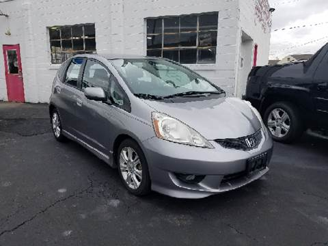 2009 Honda Fit for sale at BELLEFONTAINE MOTOR SALES in Bellefontaine OH