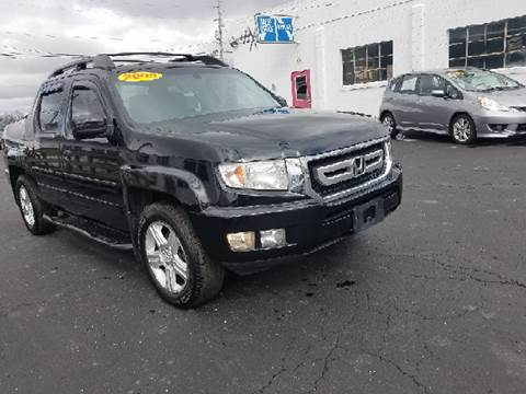 2009 Honda Ridgeline for sale at BELLEFONTAINE MOTOR SALES in Bellefontaine OH