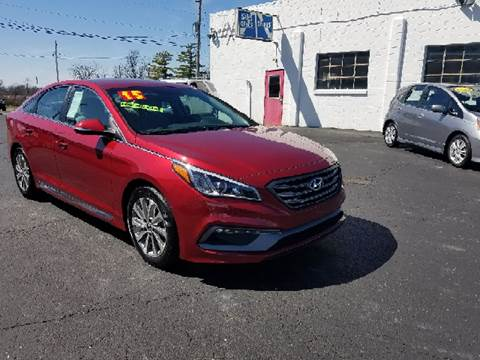 2015 Hyundai Sonata for sale at BELLEFONTAINE MOTOR SALES in Bellefontaine OH