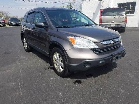 2009 Honda CR-V for sale at BELLEFONTAINE MOTOR SALES in Bellefontaine OH