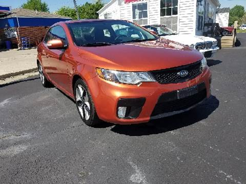 2010 Kia Forte Koup for sale at BELLEFONTAINE MOTOR SALES in Bellefontaine OH