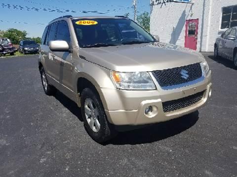 2006 Suzuki Grand Vitara for sale at BELLEFONTAINE MOTOR SALES in Bellefontaine OH