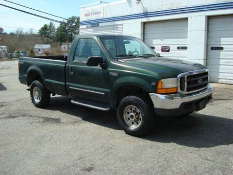 2000 Ford F-250 Super Duty for sale at Southeast Motors INC in Middleboro MA