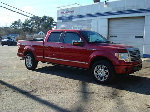 2010 Ford F-150 for sale at Southeast Motors INC in Middleboro MA