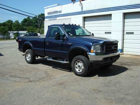 2004 Ford F-250 Super Duty for sale at Southeast Motors INC in Middleboro MA