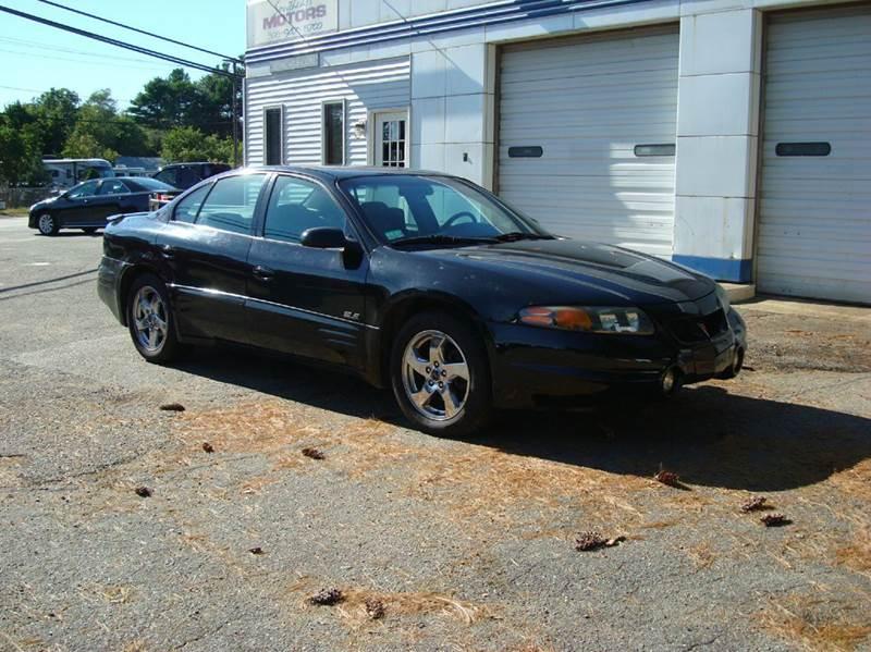 2004 Pontiac Bonneville for sale at Southeast Motors INC in Middleboro MA