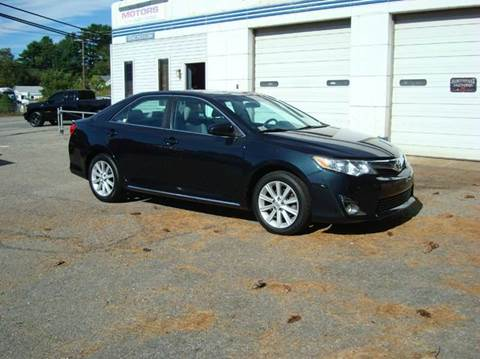 2012 Toyota Camry for sale at Southeast Motors INC in Middleboro MA