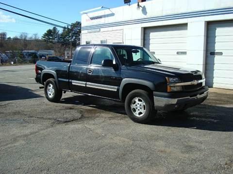 2004 Chevrolet Silverado 1500 for sale at Southeast Motors INC in Middleboro MA