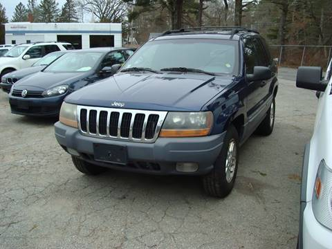 2000 Jeep Grand Cherokee for sale at Southeast Motors INC in Middleboro MA