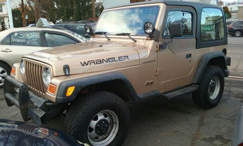 2000 Jeep Wrangler for sale at Premium Motors in Rahway NJ